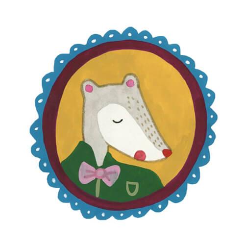 Sanne Bruinsma Illustraties & Vormgeving Boekie Boekie stArt Award 2015 Alice in Wonderland wedstrijd inzending muis portret