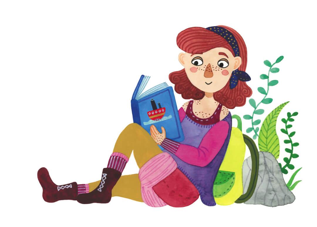 Mindfulness in de klas boek Irma Smegen illustratie gedicht Wim Hofman op reis